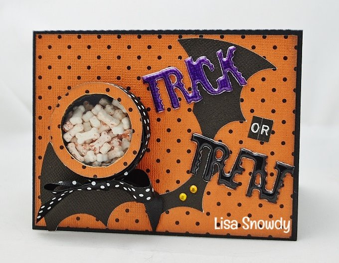 Halloween and fall treat cup cards - lisa snowdy