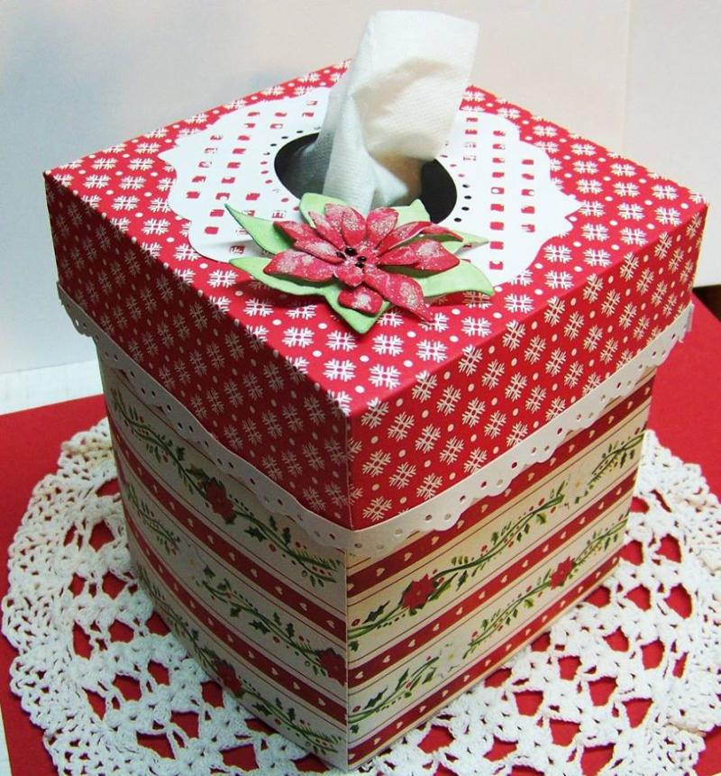 Diane  - Tissue box holder