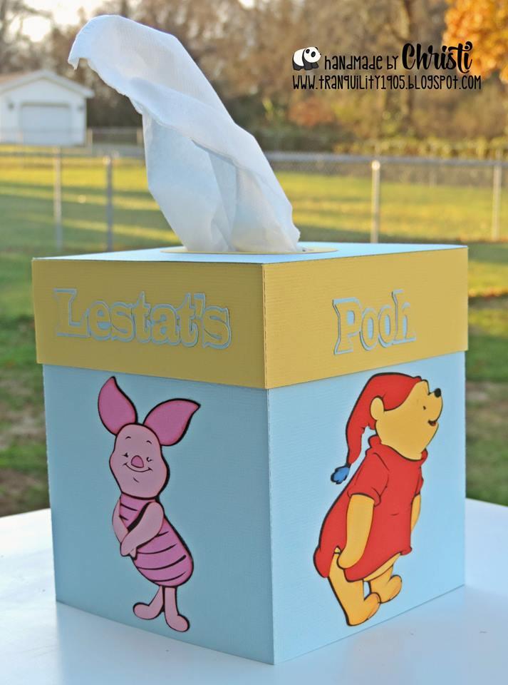 Christi - Tissue box holder