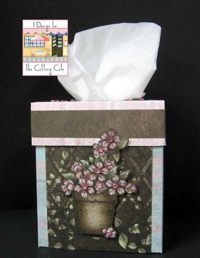 Patti - Tissue box holder