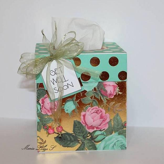 Maria Luisa - Tissue box holder