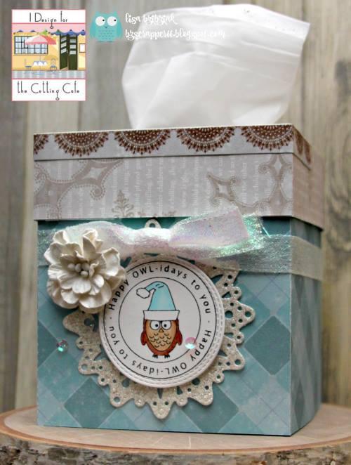 Lisa - Tissue box holder