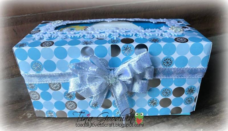 Tina - Tissue box holder