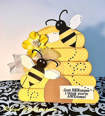 CC Beehive Shaped Card