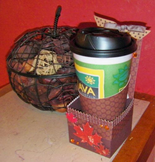 Coffee Cup Holder - Rhonda Zmikly