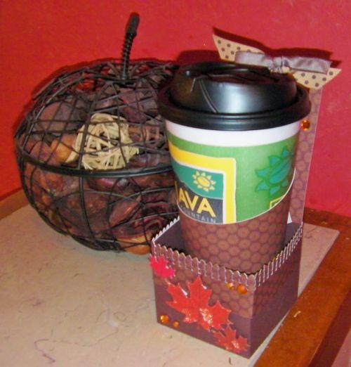 Coffee Cup Holder - Rhonda Zmikly
