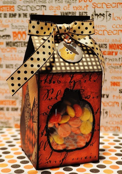 Halloween and fall milk cartons - Lisa Snow