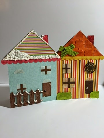 Keri Parish - house shaped card set