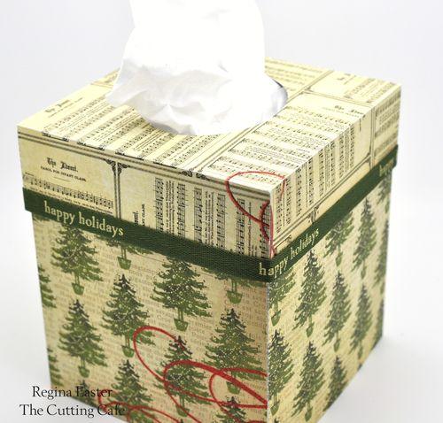 Christmas tissue