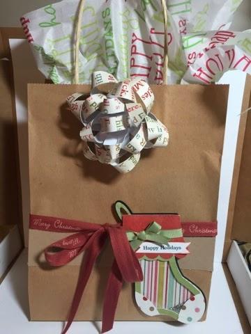 Keri Parish - Gift Bow template
