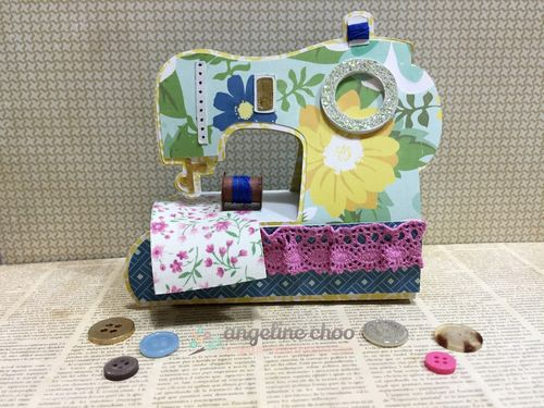 Sewing machine set - Angeline Choo
