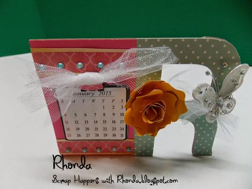 2015 CALENDAR SET and A-Z HUGE LETTER SHEETS - Rhonda Emery