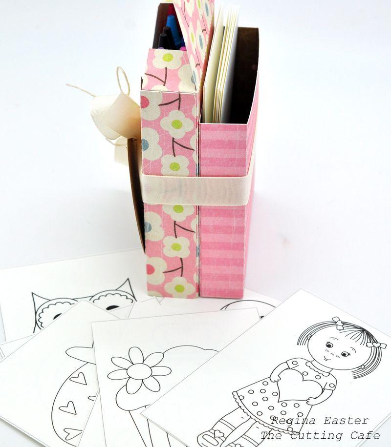 Crayon pink 2