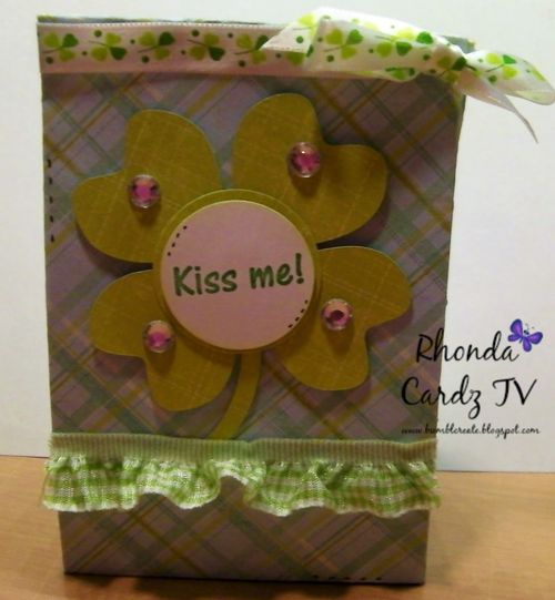 Fun with lunch bags and st. patricks day - rhonda zmikle