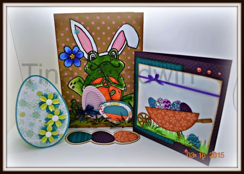 Easter Cards - Tina Goodwin