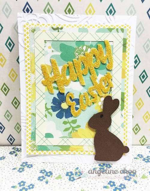 Happy easter overlay set - Angeline Choo