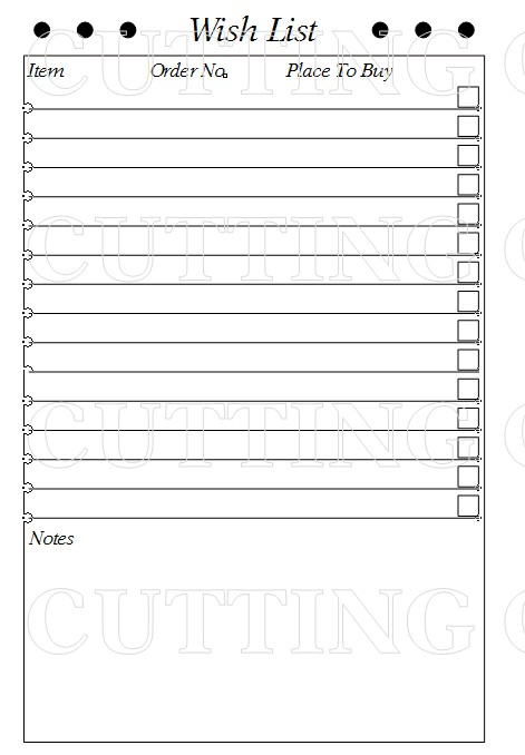 Doc453576 Printable Wish List Template 1000 ideas about – Printable Wish List Template