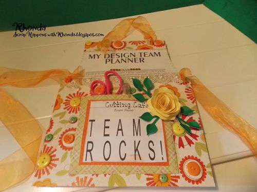 Design team planner - Rhonda Emery
