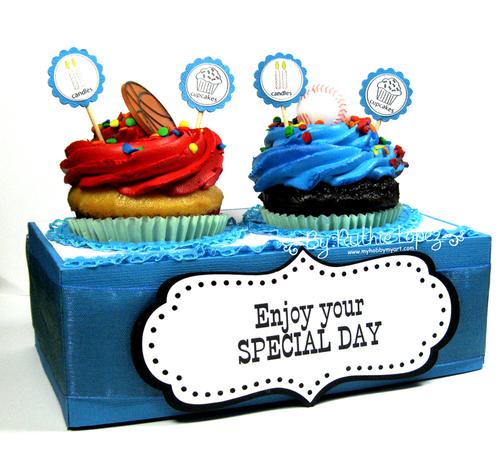 Cupcake holder - Ruthie Lopez
