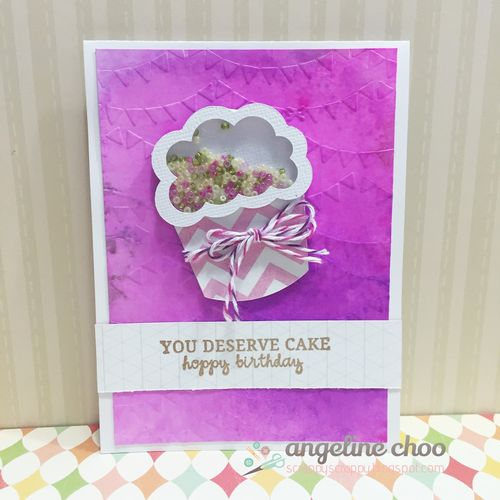 Cupcake shaker - Angeline Choo