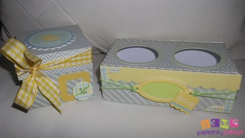 Cupcake box and cupcake holder - Doris Molina