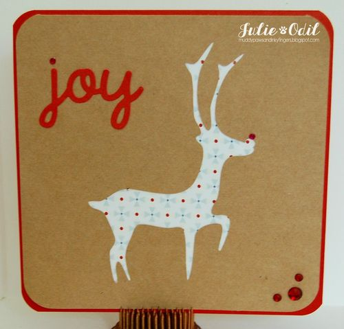 Christmas card fun - julie odil