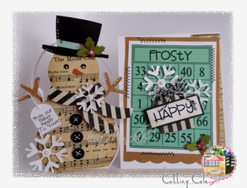 Lisa minckler - snowman treat box