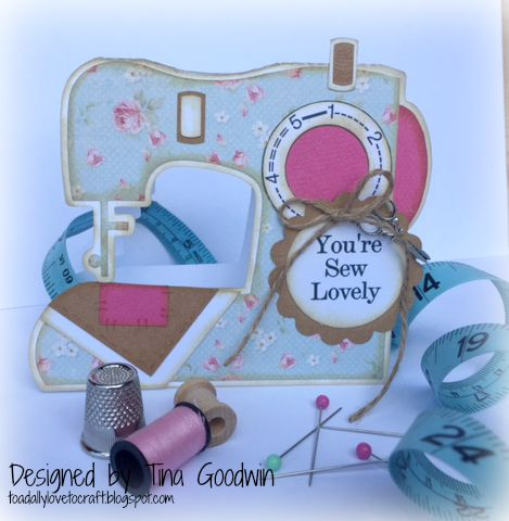 Sewing machine set - Tina Goodwin