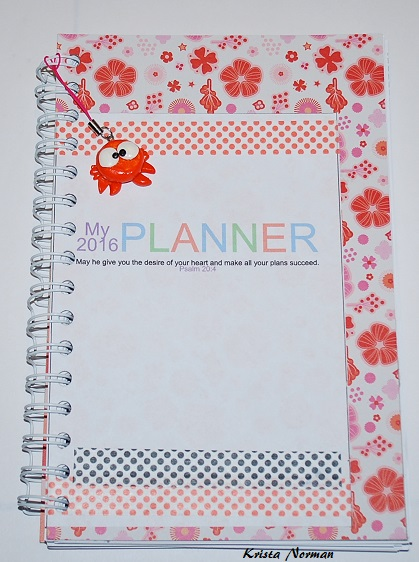2016 planner - Krista Norman