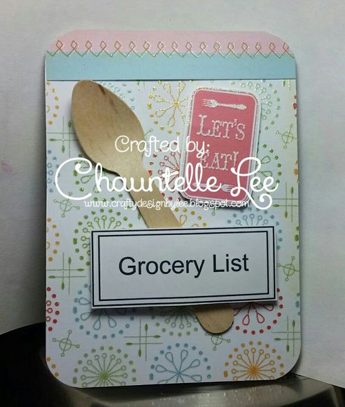 Mini note pad and card set - Chauntelle Lee