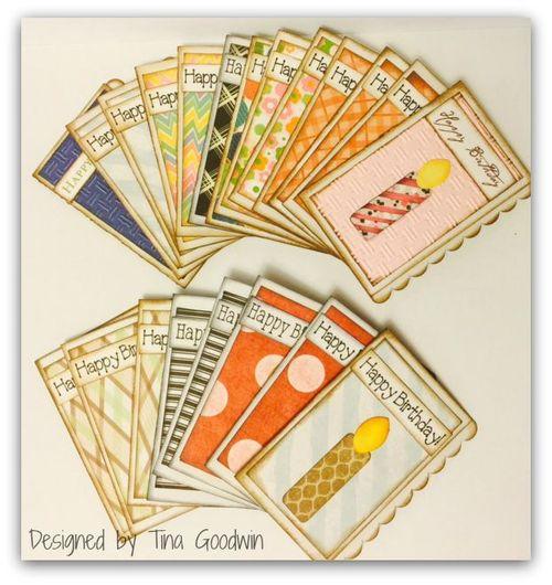 Mini note pad and card set - Tina Goodwin