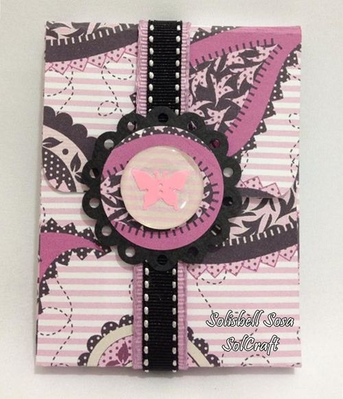 Mini note pad and card set - solisbell Sosa