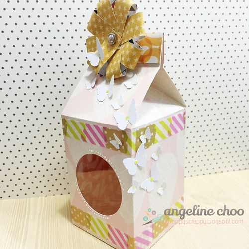 Assorted shapes milk cartons - Angeline Choo