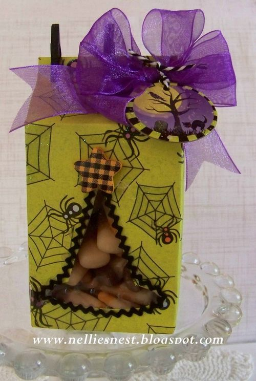 Halloween and fall milk cartons - Diane Hover