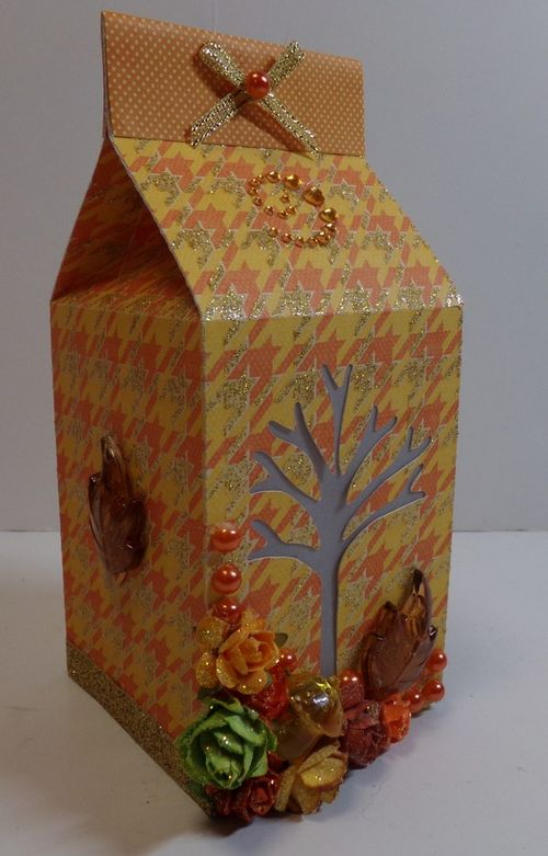 Halloween and fall milk cartons - Audrey Long