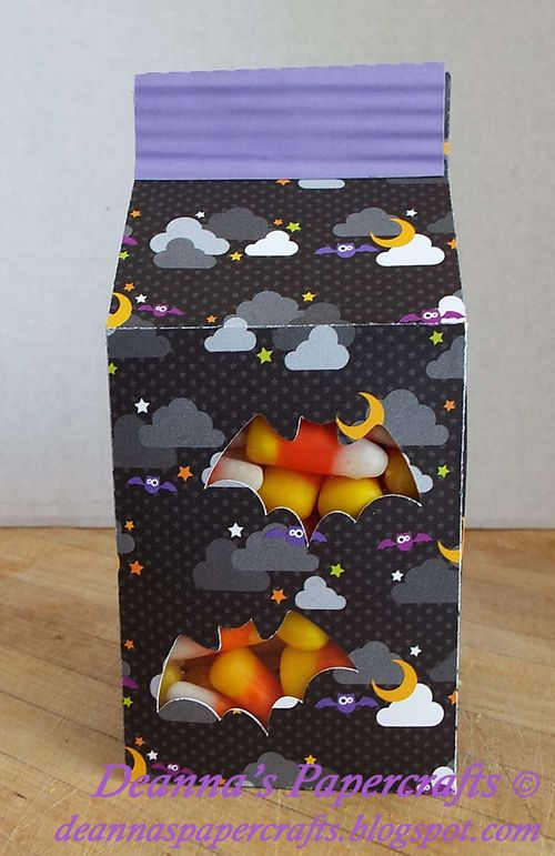Halloween and fall milk cartons and assorted milk cartons - Deanna Mulder