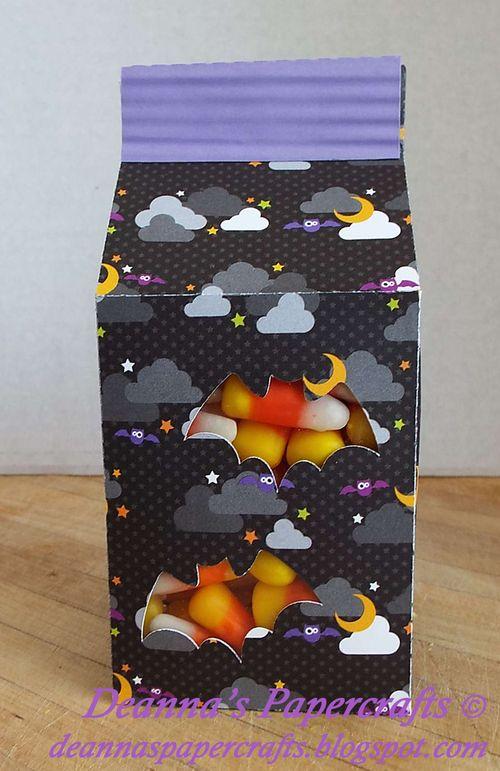 Halloween and fall milk cartons and assorted milk cartons - Deanna Mulder