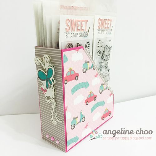 File Folder Box Holder set - Angeline Choo