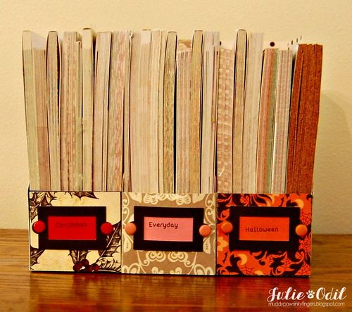File Folder Box Holder set - Julie Odil