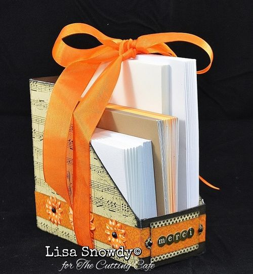 File Folder Box Holder set - Lisa Snowdy