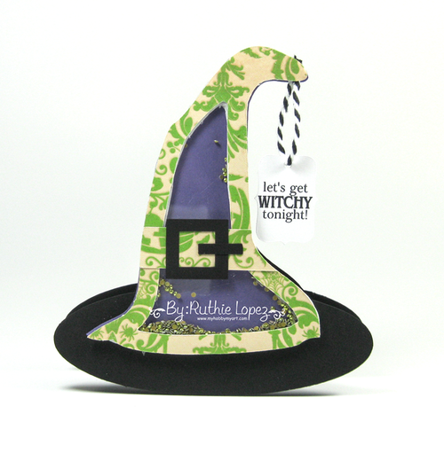 Witch hat shaker - Ruthie Lopez