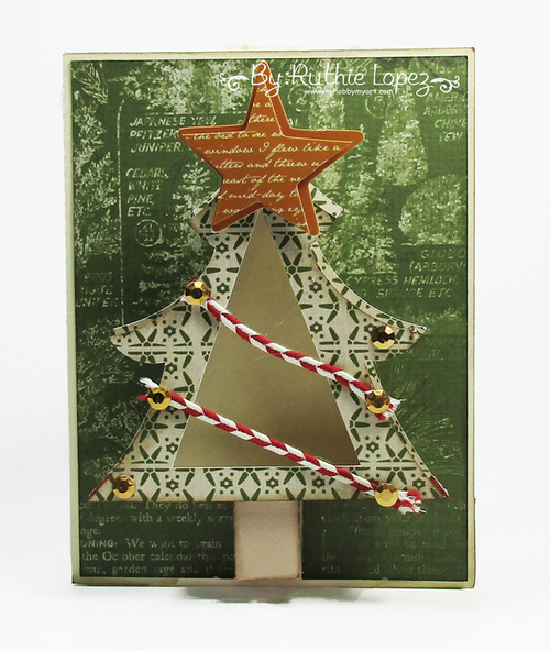 Christmas Tree treat cup -  Ruthie Lopez