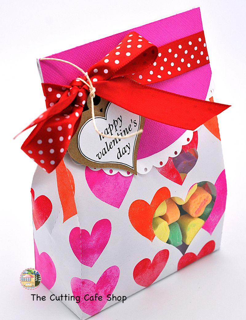 Mini heart lunch bag 1