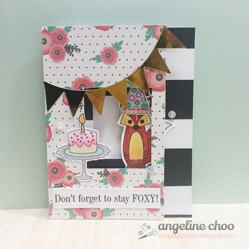 Angeline Choo - assorted card folds