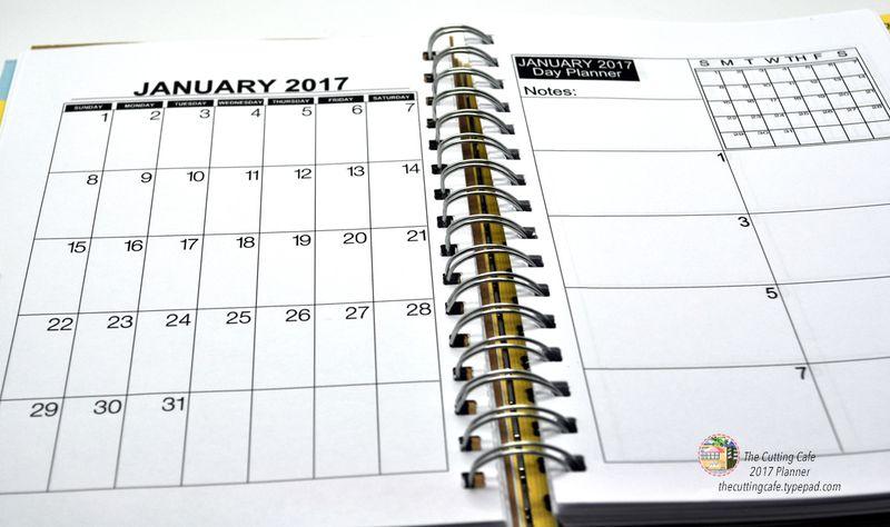 2017 planner inside