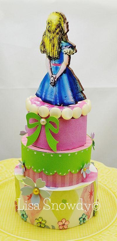 Angeline Choo - 3 tier cake