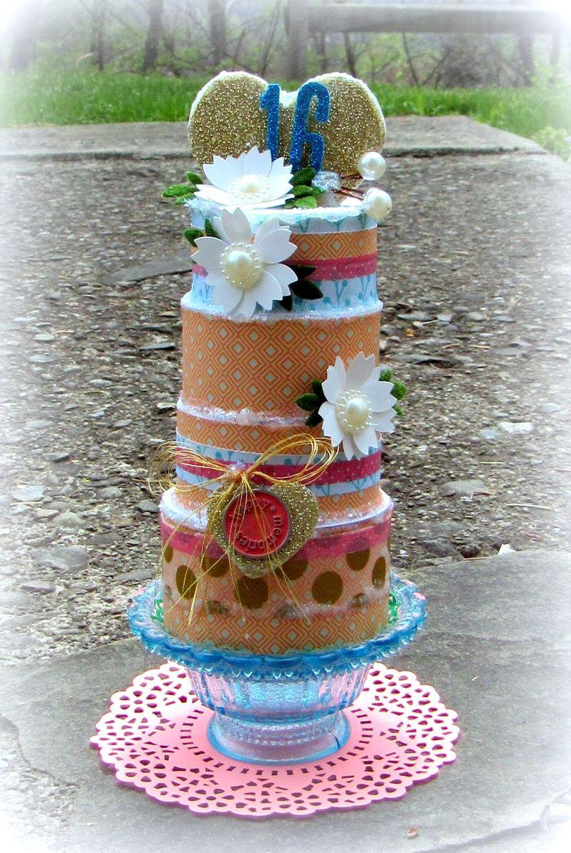 Mitra pratt - 3 tier cake