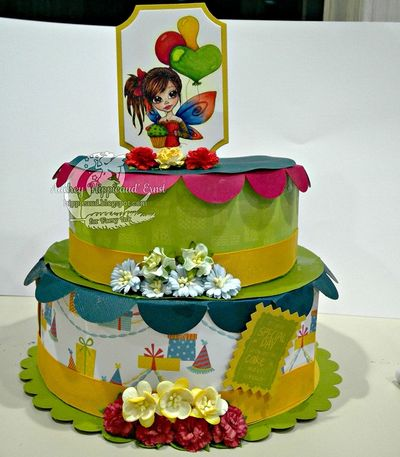 Audrey e. - 3 tier cake box