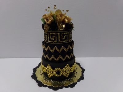 Audrey long - 3 tier cake