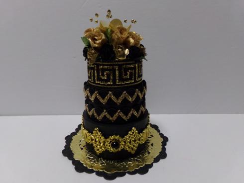 Audrey long - 3 tier cake